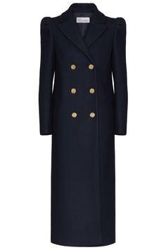 Red Valentino Damen Wollmantel Marineblau | SAILERstyle Valentino Garavani, Red Valentino, Double Breasted Suit, Suit Jacket, Suits, Coat, Jackets, Fashion, Red Color