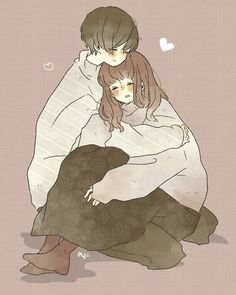 That's what people do who love you. They put their arms around you and love you when you're not so lovable Kawaii Anime, Kawaii Art, Anime Couples Cuddling, Cute Anime Couples, Anime Amor, Chica Anime Manga, Anime Love Couple, Couple Cartoon, Tumblr Gurl
