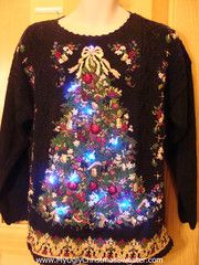 light up christmas sweaters for sale at my ugly christmas sweater This is bad! Christmas Sweater With Lights, Christmas Tree Light Up, Christmas Makes, Christmas Time, Christmas Sweaters, Ugly Sweater Contest, Ugly Xmas Sweater, Ugly Sweaters For Sale, Christmas Party Outfits