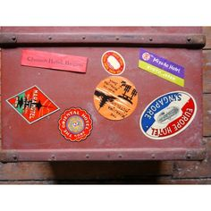Luggage Label Set - Pedlars Friday Vintage - Pedlars Vintage