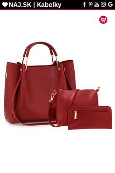 Kabelka do ruky bordová AG00610 Shopper Bag, David Jones, Zara, Fashion, Moda, Fashion Styles, Fashion Illustrations