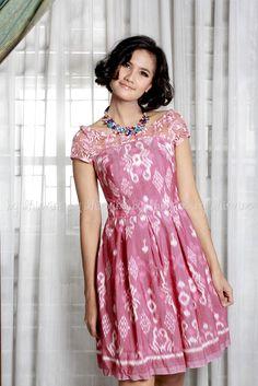 Pendapa Ikat Borneo Dress | DhieVine | Redefine You
