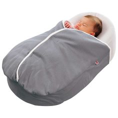 BuyRed Castle Cocoonababy Nest Blanket, 2 Tog, Grey Online at johnlewis.com