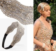 Great Gatsby Hair band  God I wish I could pull this off!