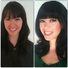 hair and makeup makeover