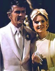 """General Hospital cross overed to the """"new"""" soap, Once Life to Live...so loved it for awhile also...Joe and Vicki here...a beautiful union. I still remember sobbing my eyes out when he died."""