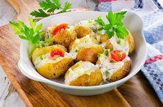 Συνταγές | Χρυσελιά Fish And Seafood, Baked Potato, Potato Salad, Shrimp, Baking, Healthy, Ethnic Recipes, Bakken, Health