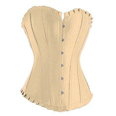 A3221 - Cream Diamante Corset