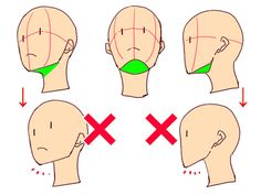 Drawing heads from whatever angle made easy! 4 tips | Illustration Tutorial Don't forget to draw the part below the chin