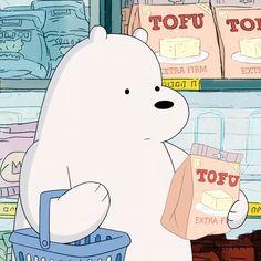 🍎아이스베어 장보기 (22) Ice Bear We Bare Bears, 3 Bears, Cute Bears, Cartoon Photo, Cartoon Profile Pictures, Bear Wallpaper, Disney Wallpaper, We Bare Bears Wallpapers, Dibujos Cute