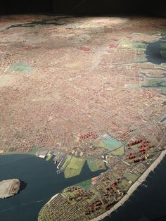 The beyond gorgeous Panorama of the City of New York at the Queens Museum of Art.