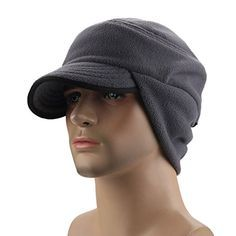 Fleece Hat with Ear Flaps Pattern (free) with tutorial