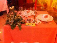 Una cena tutta in rosa
