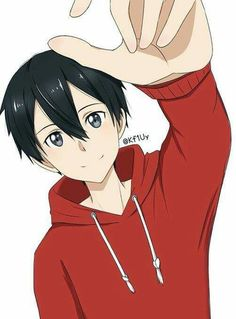 Kirito reaching over to give you a headpat. Kirito Sao, Kirito Kirigaya, Sao Anime, Manga Anime, Kunst Online, Online Art, Fantasy Adventure Anime, Manga Font, Sao Fanart