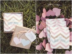 DIY bridesmaid gift ideas // How to ask your friend to be a bridesmaid // Torrance wedding photographer » Sun & Sparrow // wedding photograp...