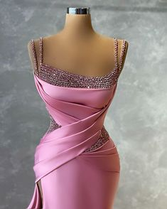 Gala Dresses, Pink Dresses, Evening Dresses, Formal Dresses, Designer Evening Gowns, Fantasy Dress, Caftan Dress, Princesses, Inspirational