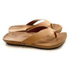 Mens Mohop Handmade WoodSole ThongStyle Sandals by mohop on Etsy, $164.00