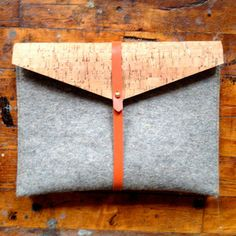 Felt and Cork iPad Case