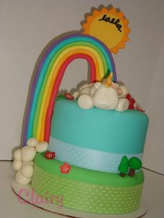 How flippin' cute is this cake?