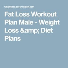 Five Day Split For Fat Loss