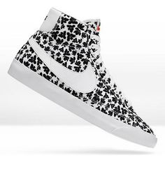 Love this pattern & style.  Nike Blazer Mid iD. #pattern #customize #nike