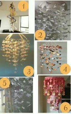Diy paper flower chandelier paper flowers pinterest flower a roundup of etsy paper chandeliers in white pink and different colours that make interesting options for hanging wedding decor in different paper styles mightylinksfo