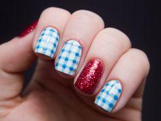 October 2012 | Chalkboard Nails: Dorothy Nails