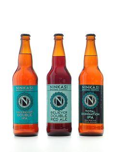 Ninkasi Bottled  The Ancient Sumerian Goddess of Beer. gotta love it.