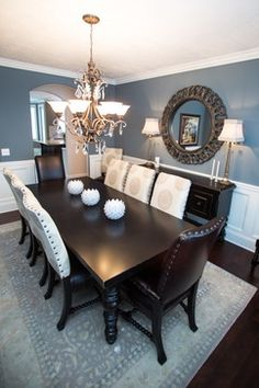 BLUE GREY PAINT Design Ideas, Pictures, Remodel and Decor