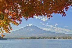 Lakeside of the neighborhood of Kawaguchiko-circle-hall