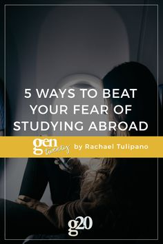 Studying abroad is incredibly awesome and life-changing, but it's a little scary too. A new country with new people, food, and schedule -- it's not wonder so many people have a fear of studying abroad.