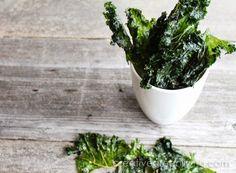 {Recipe} Kale Chips ~ Creative Green Living