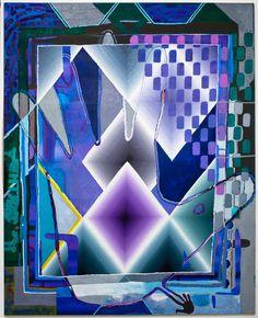 Paul DeMuro, Individual God Identity, 2012, oil on canvas, 112 x 91 in