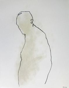 Minimal Male Figure Drawing - 11 x from life - Drawing 74 - graphite and linseed oil on paper - original drawing Human Figure Drawing, Figure Drawing Reference, Life Drawing, Drawing Sketches, Painting & Drawing, Art Drawings, Figure Drawings, Contour Drawing, Anatomy Drawing
