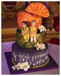 Maharashtrian wedding cake