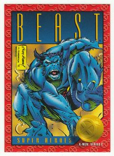 X-Men Series 2 - Beast # 2 Skybox 1993