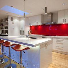 Glass Splashback Design Ideas, Pictures, Remodel, and Decor