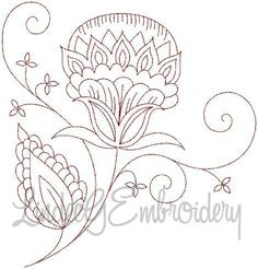 Jacobean Embroidery Patterns | Free Embroidery Patterns | Embroidery Designs Category