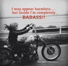 Yes you are!!! Harley-Davidson of Long Branch www.hdlongbranch.com