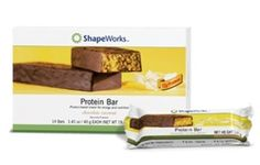 Herbalife protein bars in chocolate coconut. Great tasting 170 calories, 12 grams protein 23 vitamins and minerals, plus soluble fiber. 1gram net impact carbs per serving. Www.goherbalife/joinjennifer