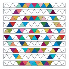 60' triangle hexagon shope quilt