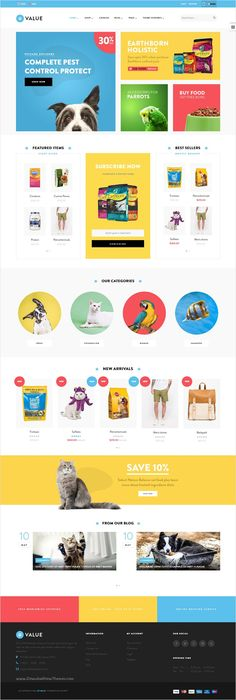 Ap Value is wonderful #Shopify #template for stunning #pets #petfood eCommerce website with 3 multipurpose homepage layouts download now➩ https://themeforest.net/item/ap-value-shopify-theme/18371162?ref=Datasata