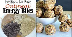 Oatmeal Energy Bites (Easy No-Bake Snack)