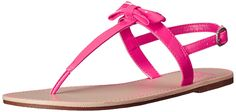 The Children's Place Girl's Candy Bow Thong Sandal (Little Kid/Big Kid) >>> Can't believe it's available, see it now : Girls sandals