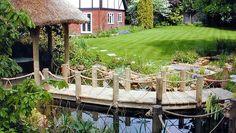 Water Garden - Koi Pond Water Garden Design, Berkshire   Landscape Garden Designers, Reading, Berkshire   Pete Sims