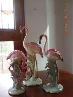 Brad Keeler 3 Flamingos   eBay