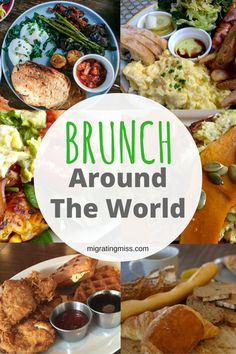 The Best Brunch Around The World - Migrating Miss Breakfast Around The World, Around The World Food, Exotic Food, Best Dishes, World Recipes, Breakfast Time, Italian Recipes, Swiss Recipes, International Recipes