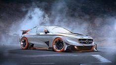 "$9.99 AUD - 213 Super Racing Car - Mercedes-Benz S63 43""X24"" Poster #ebay #Collectibles"