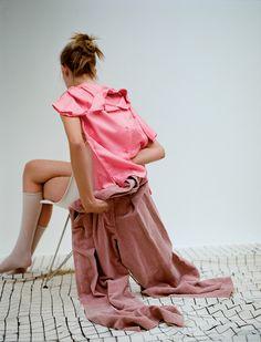 Emilie Evander-style: Vittoria Cerciello, photo: Dario Catellani for Numéro China, August 2015