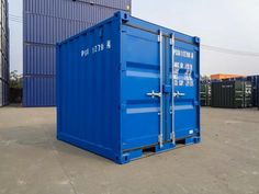 8ft Containers are a perfect storage option for either at home or work! ▪️Wind & Watertight ✅ ▪️Fitted Lockbox ✅ ▪️Air Vents ✅ ▪️Grafo & Bespoke colours available ✅ Ready and waiting to be delivered! 🚛 Container Sales, Containers For Sale, Storage Containers, Used Shipping Containers, Container Conversions, Bespoke, Locker Storage, Waiting, Colours
